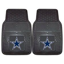 NFL Dallas Cowboys Car Truck 2 Front Heavy Duty Rubber Vinyl Floor Mats