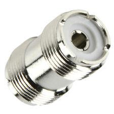 PL259 SO239  UHF Female Socket to Socket Adaptor Ham Radio CB