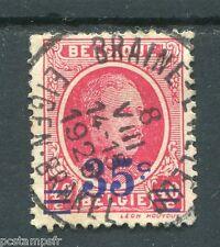 BELGIQUE 1927, timbre 247, ALBERT 1°, oblitéré