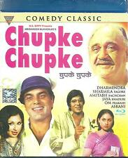 CHUPKE CHUPKE - AMITABH BACHAN - DHARMINDERA - BOLLYWOOD  BLU RAY - FREE POST UK