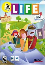 New The Game of Life Path to Success 2008 Mac Computer OS X Intel Video Game