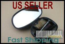 Black ATV Mirrors Suzuki Eiger LTA400 King Quad 250 300 400 450 500 700 750