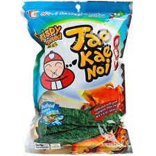 TaoKaeNoi Tao Kae Noi Crispy Seaweed - Seafood Flavor 32g ( Thailand Snack )