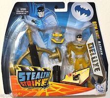 2011 Batman Stealth Strike Bogen Schuss Batman Luxus Figur mit Maske MOC VHTF