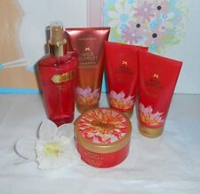 Victoria's Secret Wild Scarlet Mist + Butter + Cream + Lotion X 5 NEW
