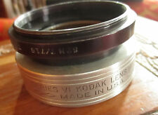 "KODAK SERIES VI LENS HOOD 6 1.75"" 44mm THREAD w/ Tiffen Adaptor Ring Series 7"