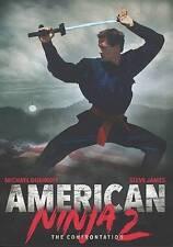 AMERICAN NINJA 2: CONFRONTA...-AMERICAN NINJA 2: CONFRONTATION  DVD NEW