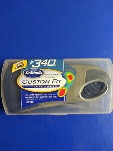 Dr Scholl's Custom Fit Orthotic Inserts CF 340 One Pair