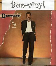 Richard Dimples Fields – Mr. Look So Good! - Vinyl LP Vg+ Con