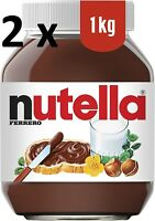 2 X 1KG = 2KG Nutella Hazelnut Chocolate Spread Cocoa Family Pack *FAST SHIPPING