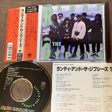 RANDY & THE GYPSYS (Randy Jackson) st JAPAN CD PCCY10078 w/OBI+INSERT 1989 issue