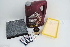 Service Kit Inspektionsteile Filter  Seat Ibiza 6J 1,2 51KW + 5L 5W30 Longlife