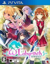 Omega labyrinth PS Vita D3 PUBLISHER Sony PlayStation Vita From Japan