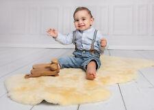 pelle di agnello dorata per neonato MEDICALMENTE gegerbt 110-120 cm Pecora