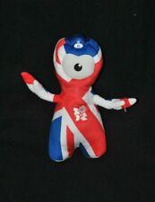Peluche doudou mascotte officielle J.O. Londres 2012 paralympiques 25 cm NEUF