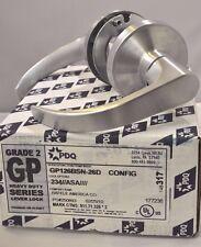 "PDQ COMMERCIAL LOCKSET GP BOSTON 126 PASSAGE 2 3/4"" BACKSET"