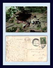 North Carolina Hendersonville Indian Cave 1911 To Louise Worthman, Charleston
