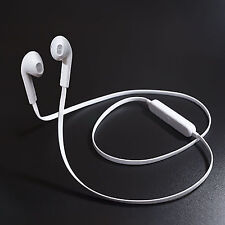 Sports Wireless Bluetooth 4.1 Headset Stereo Headphone Earphone Handfree BU White