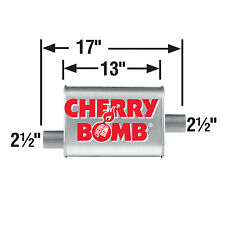 AP Exhaust AP16809CB Cherry Bomb Turbo Muffler Founded in 1927, AP Exhaust