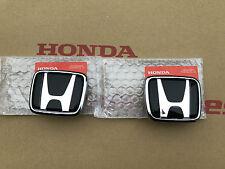 Honda S2000 Emblem vorne & hinten Logo Typenschild in Schwarz Set Black Badge