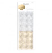 Gems Adhesivo con respaldo-oro y plata - 1530 gemas-moderno Lustre