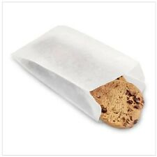 Glassine Bags Gusseted Translucent Wax Paper Favors Baked Goods Cookies Size/Qty