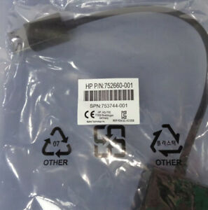 Lot of 2 HP 752660-001 DisplayPort to DVI-D SL Adapter Cable 753744-001 - New