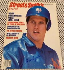 KEVIN MCREYNOLDS 1989 AUTOGRAPHED SIGNED Baseball Magazine METS