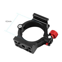 BGNING Ring Microphone Mount 4-Ring Hot Shoe Adapter for Zhiyun Smooth 4  Gimbal