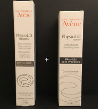 Avene physiolift smoothing day cream 30ml + physiolift wrinkle filler 15ml