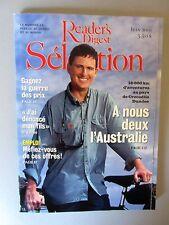 """Selection Reader's Digest Magazine Juin 2001 Fr. Neuf  """"A Nous Deux L' Australie"""
