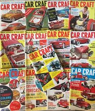 Vintage Lot Car Craft Magazines Partial Years 1958 And 1959