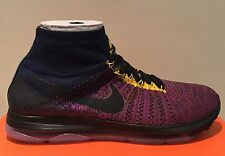 NikeLab Zoom All Out Flyknit 'Navy Vivid Purple' Size UK 8.5 (EUR 43) 881679 400