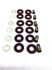 FUEL INJECTOR REPAIR KIT O-RINGS FILTERS PINTLE CAPS JEEP BOSCH UPGRADE 4.0L L6