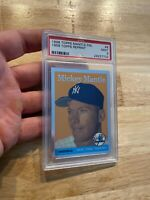 Mickey Mantle PSA 9 MINTY MINT 1996 Topps Finest #8 Collector Card Man Cave GIFT
