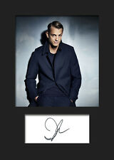 JOEL KINNAMAN #2 A5 Signed Mounted Photo Print - FREE DELIVERY