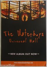 WATERBOYS Universal Hall Rare Original Official UK Record Company POSTER