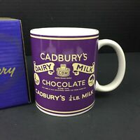 Cadbury Cadbury's Dairy Milk Chocolate Advertising Coffee Mug w/ Gift Box