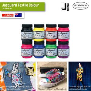 Jacquard Textile Colours 199.62 ml (3x Jars) Fabric/Leather/Canvas/Wood