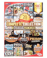 Complete Collection: Hunting Unleashed | 18 Wheels of Steel | Prison Tycoon  NEW