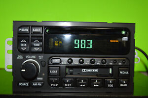 Delco Buick factory CD cassette player radio stereo 96 97 98 99 00 10321329 OEM