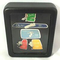 Vancouver Winter Olympics Pin Set Procter Gamble Team USA 2010 Inukshuk