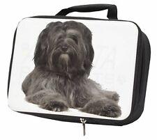 More details for tibetan terrier dog black insulated school lunch box bag, ad-tt2lbb