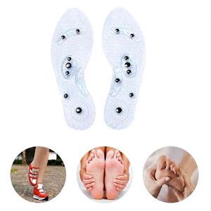 1 paar Schuh Gel Einlegesohlen Füße Magnetische Therapie