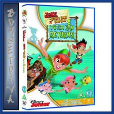 JAKE AND THE NEVER LAND PIRATES: PETER PAN RETURNS**BRAND NEW DVD **