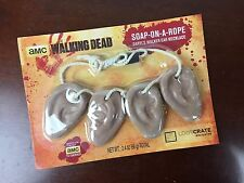 NEW Walking Dead Soap on a Rope Loot Crate Exclusive Ear Necklace TWD