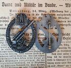 Flakkampfabzeichen Wk 2. -  Sammleranfertigung