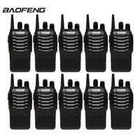 10PC Baofeng BF-888S Two Way Radio Walkie Talkie Wireless Handheld UHF400-470MHz