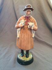 Royal Doulton Figurine: Lambing Time Hn# 1890 Beautiful Piece