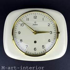 Mid Century Modern JUNGHANS Wanduhr 50er 60er Uhr Kitchen Clock vintage 1960s